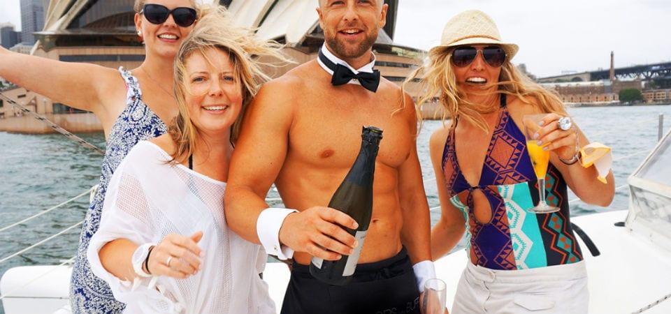 Catamaran Cruise Hesn party sydney 3
