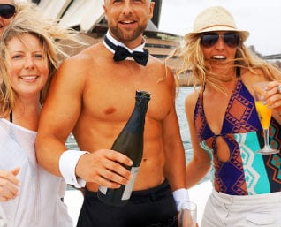 Boat hire for hens nights in Sydney NSW