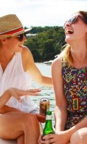 Hens party cruise Sydney Catamaran4