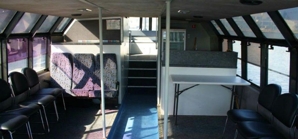 Bachelor cruise in Melbourne Docklands