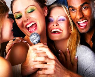 Bucks night and hens party karaoke deals