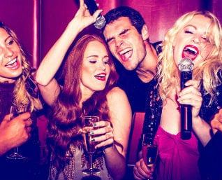 Bucks party karaoke fun in Sydney
