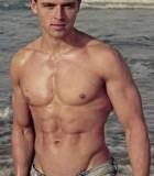 alex male vic topless waiter