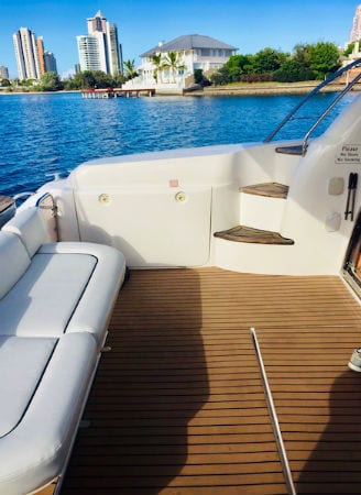 bucks party Gold coast cruise deck
