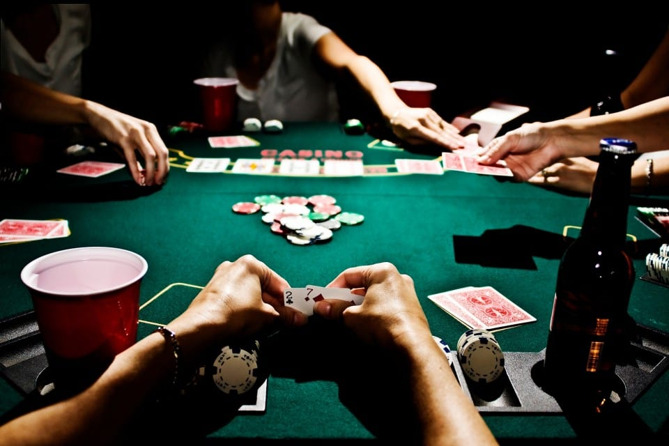 Bucks night poker at your place with Glamor strippers.