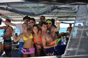 Bachelor night boat hire deals