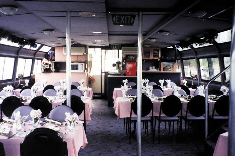 West Lake Cruise adelaide inside boat