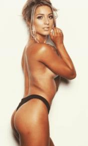 Melbourne Bucks Party Topless Waitress Crystal