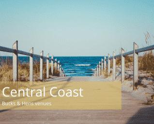 central coast bucks and hens venues
