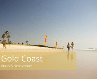 Gold coast bucks and hens venues