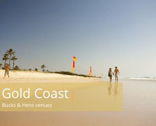 Gold coast bucks and hens venues