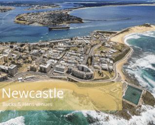 Newcastle bucks and hens venues