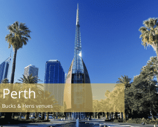 Perth Bucks and Hens venues list.