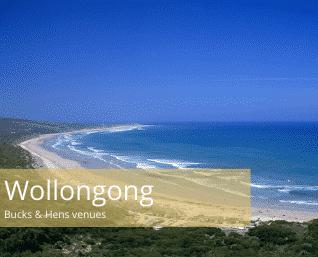 Wollongong bucks and hens venues